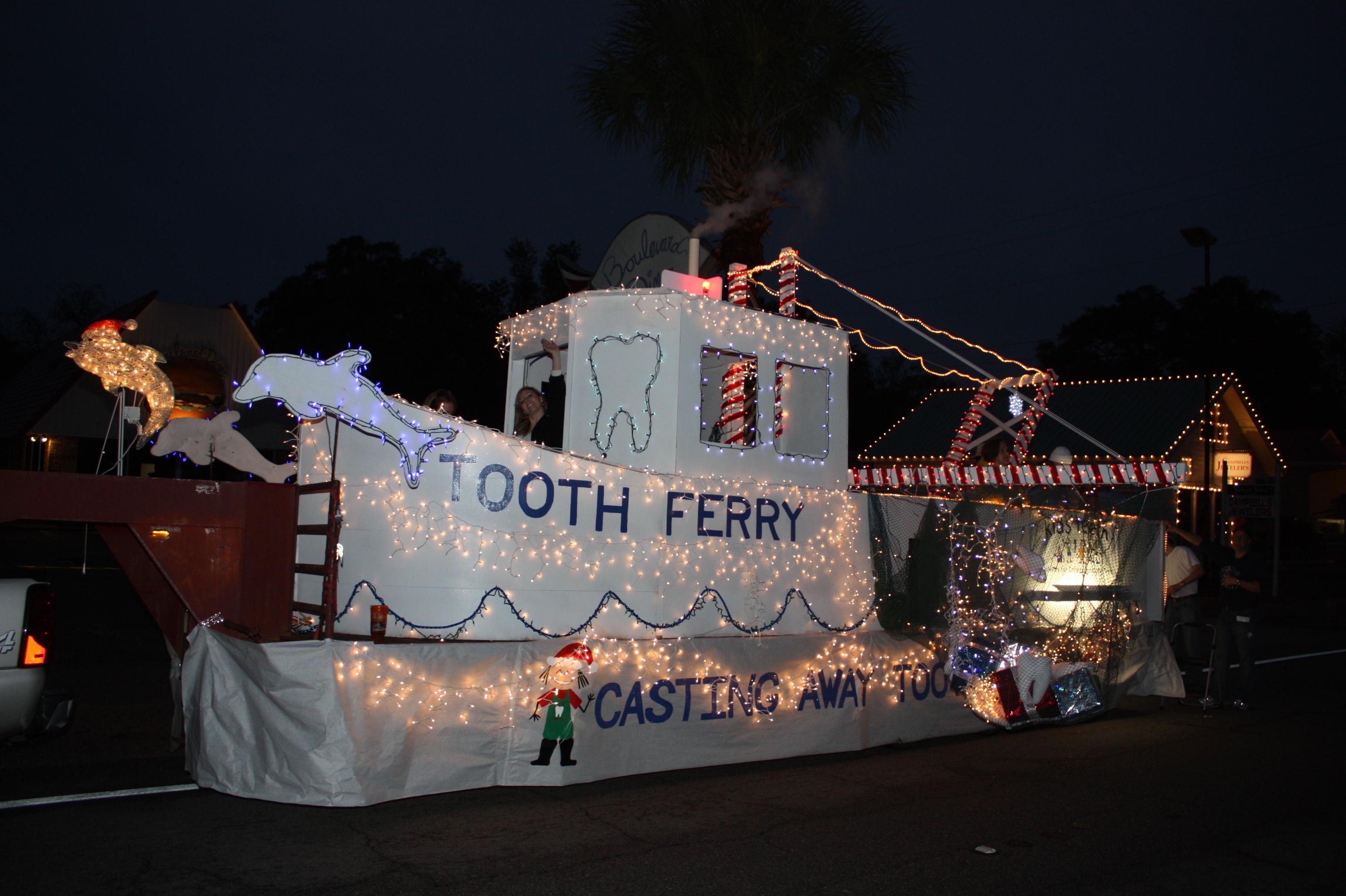 Christmas parade ideas - Tooth Ferry